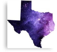 Purple Texas Nebula Canvas Print