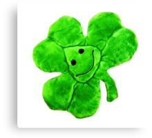 Funny Irish Shamrock Canvas Print