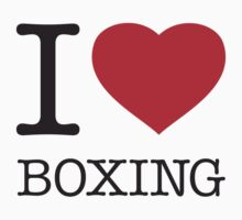 I ♥ BOXING by eyesblau