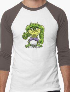 Always Angry  Men's Baseball ¾ T-Shirt