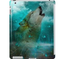 I'll See You In My Dreams (Wolf Howl) iPad Case/Skin