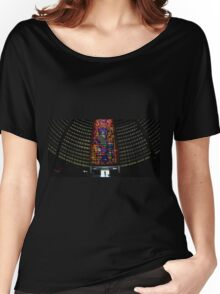 Cathedral Interior with Entrance, Rio de Janeiro, Brazil Women's Relaxed Fit T-Shirt