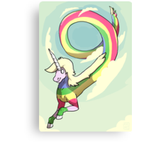 Rainicorn Canvas Print
