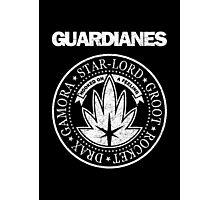 Guardianes Distressed Photographic Print