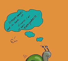 Snail's home by ywanka