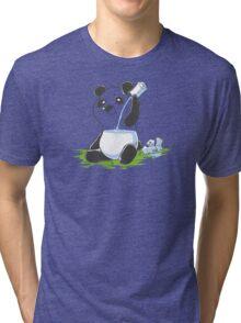 Panda in My FILLings Tri-blend T-Shirt