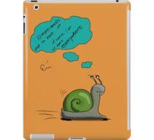 Snail's home iPad Case/Skin