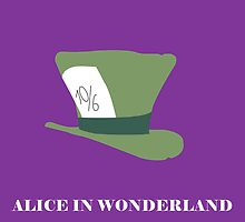 Alice in Wonderland minimalist  by Alexis Hobson