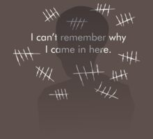 I Can't Remember Why I Came In Here by Justin Butler