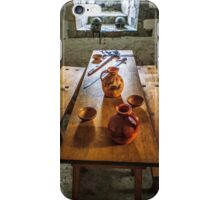 AA127 Medieval Dining Table  iPhone Case/Skin