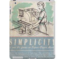 Fallout Super-Duper Mart! iPad Case/Skin
