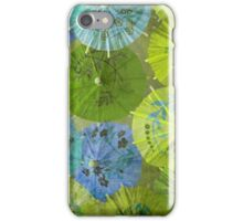Parasols - Blueberry Lime iPhone Case/Skin