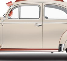 1952 Volkswagen Beetle Sedan - Sand Sticker