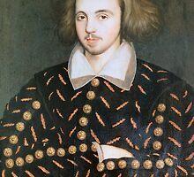 Portrait of nobleman, perhaps Christopher Marlowe by Bridgeman Art Library