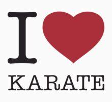 I ♥ KARATE by eyesblau