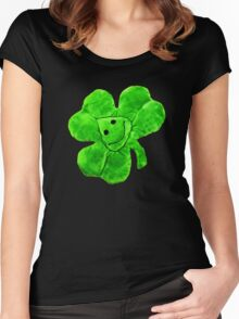 Funny Irish Shamrock Women's Fitted Scoop T-Shirt