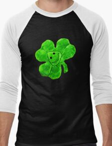 Funny Irish Shamrock Men's Baseball ¾ T-Shirt
