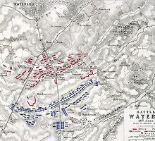Battle of Waterloo by Bridgeman Art Library