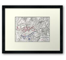 Battle of Waterloo Framed Print