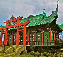 Chinese Tea House, Newport, Rhode Island by LisaThomasPhoto