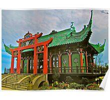 Chinese Tea House, Newport, Rhode Island Poster