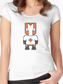 Orange Knight Women's Fitted Scoop T-Shirt