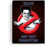 Egon, but not Forgotten Canvas Print