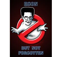 Egon, but not Forgotten Photographic Print