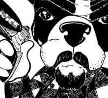 French Bulldog Gangster Sticker