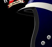 JIM CLARK _ Classic F1 Helmets by Cirebox