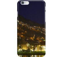 Bergen city at night iPhone Case/Skin