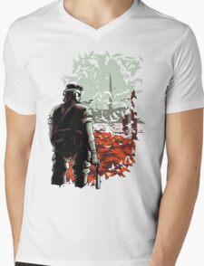 Big Boss Mens V-Neck T-Shirt