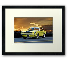 1966 Ford 'Pony Up' Mustang Framed Print
