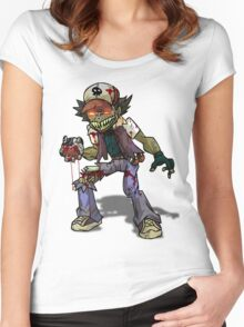 Zombie Ash (Pokemon) Women's Fitted Scoop T-Shirt