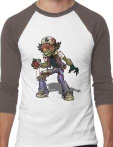 Zombie Ash (Pokemon) Men's Baseball ¾ T-Shirt