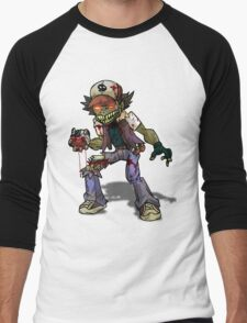 Zombie Ash (Pokemon) Men's Baseball ¾ T-Shirt