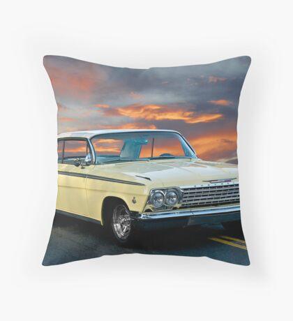 1962 Chevrolet SS Impala Throw Pillow