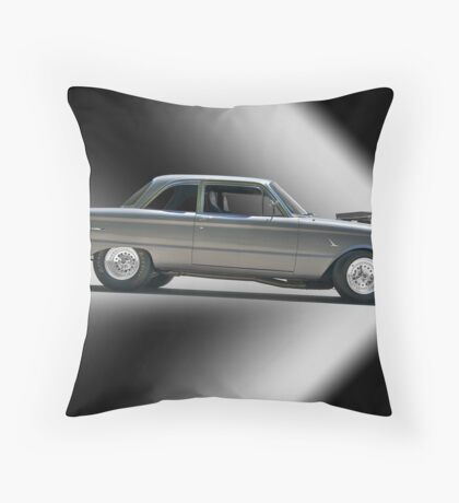 1961 Ford 'Normally Aspirated' Falcon Throw Pillow