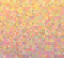 Abstract background from triangles in shades of beige by amovitania