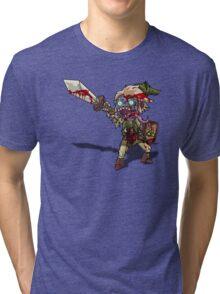 Zombie Link (Zelda) Tri-blend T-Shirt