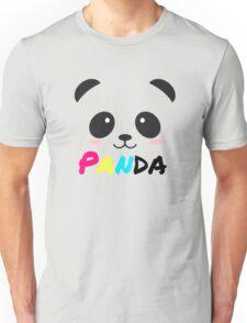 Panda (pansexual colours) Unisex T-Shirt