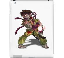 Zombie Ryu (Street Fighter) iPad Case/Skin