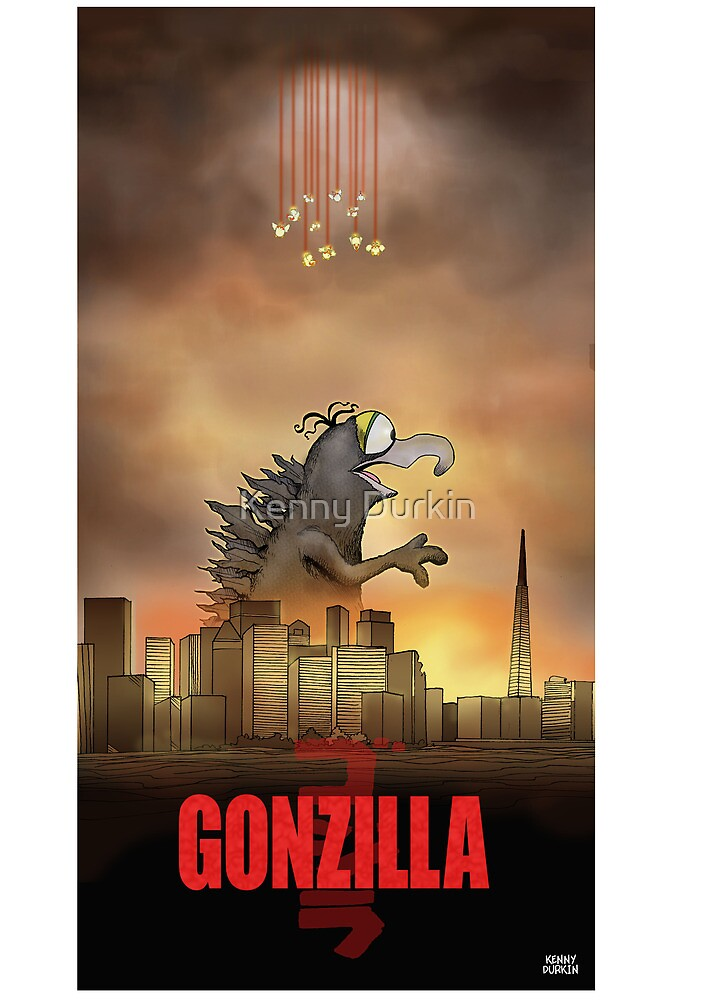 Gonzilla by Kenny Durkin
