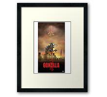 Gonzilla Framed Print