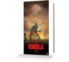 Gonzilla Greeting Card
