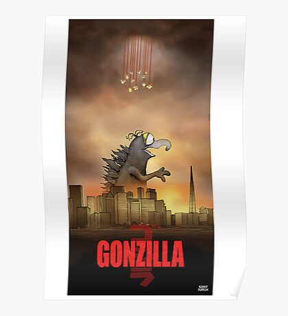 Gonzilla Poster