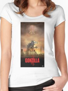 Gonzilla Women's Fitted Scoop T-Shirt
