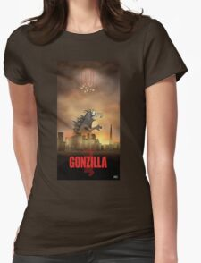 Gonzilla Womens Fitted T-Shirt