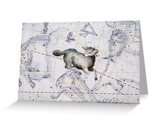Constellation of Aries Greeting Card