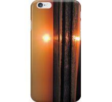 Bright Orange Sunrise iPhone Case/Skin